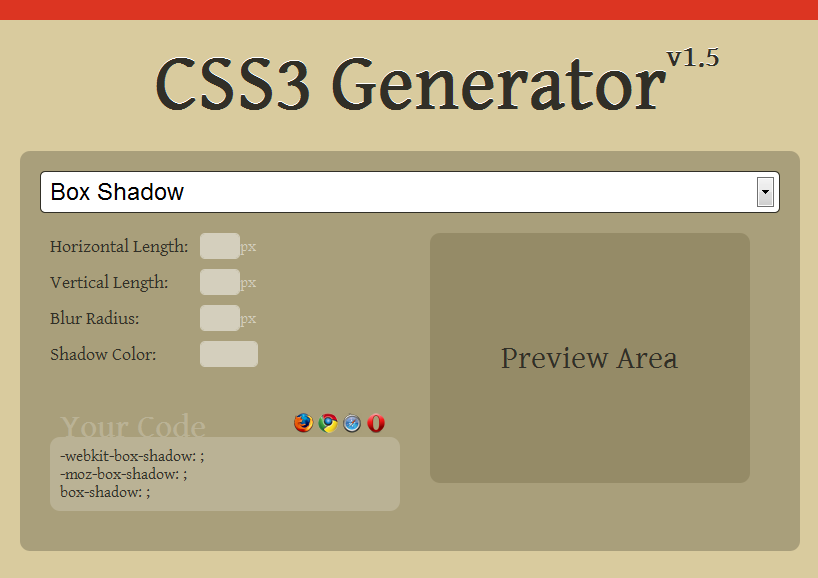 12 free css layout generators webmaster software tools rapid