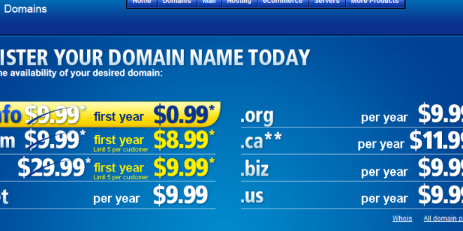INFO Domains For 099 At 11