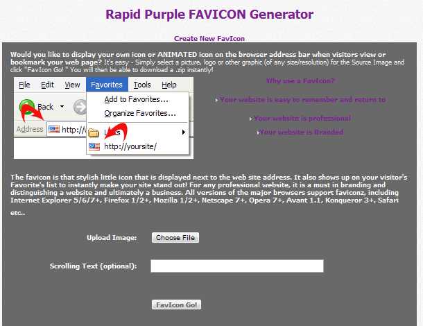 New Tool: Favicon Generator Launched - Rapid Purple News