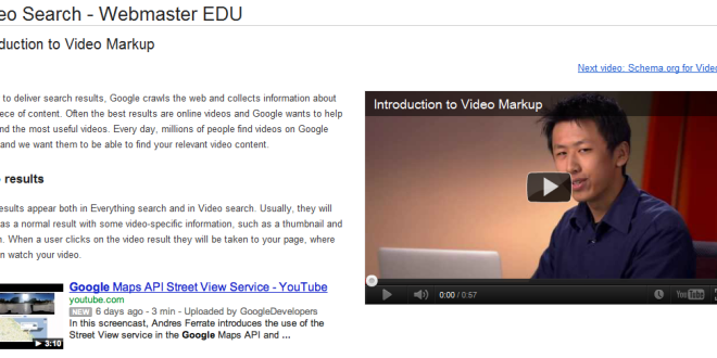 Schema org Video Markup Supported By Google - SEO Talk - Rapid Purple