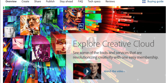 adobe creative cloud student