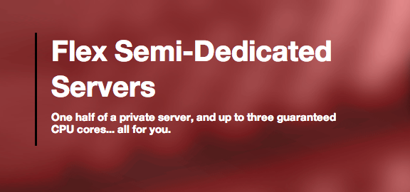 ServInt Flex Semi-Dedicated Servers