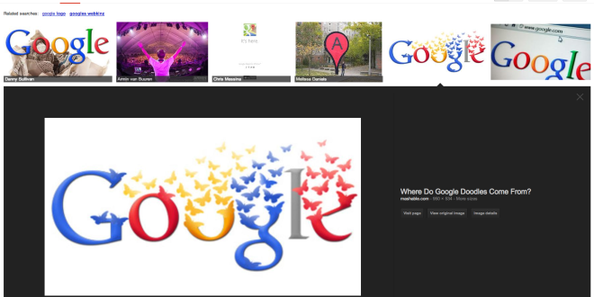 New Google Images Layout