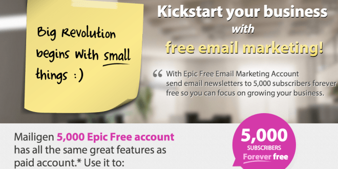 5000 Epic Free Email Marketing