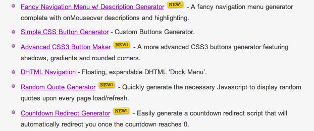 New Webmaster Tools Added - Rapid Purple