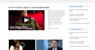 AfricaIQ Videos Page (After)