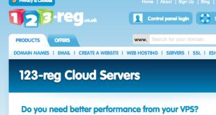 123Reg Cloud Servers