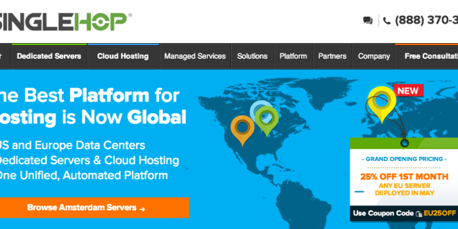 SingleHop Launches New Amsterdam Datacenter