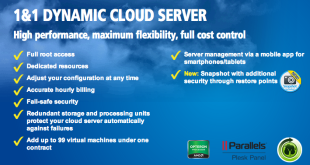 1&1 Dynamic Cloud Server
