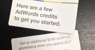 Free Adwords Giveaway