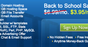 Bluehost Back to School Sale