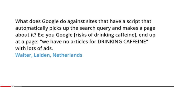 Does Google take action on automatically generated pages that provide no added value?