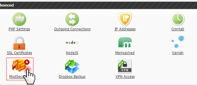 ModSecurity Enabled On All VPS Accounts - Rapid Purple