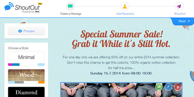Wix Launches ShoutOut - An Email Newsletter Tool - Internet News ...
