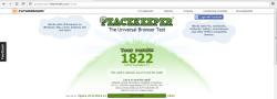 Opera 25 - Peacekeeper Test