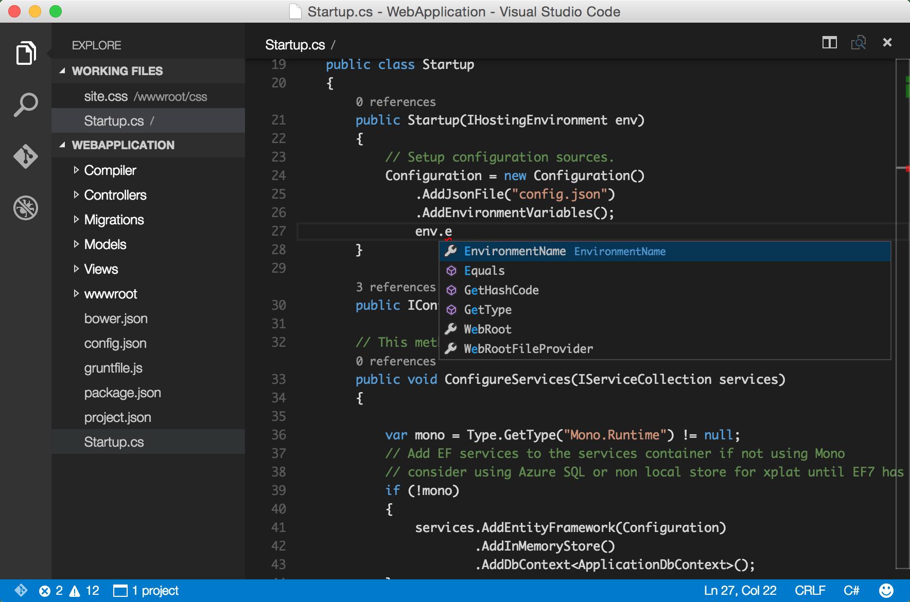 Introducing Visual Studio Code - A Free, Cross-Platform Code Editor