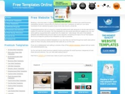 Free htmlcss templates free webmaster resources directory free templates online is a web template resource featuring free htmlcss templates along with website design tutorial links and premium templates from pronofoot35fo Images