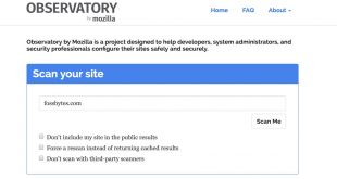 mozilla-Observatory-free-website-security-scanner