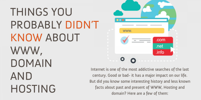 Infographic Lesser Known Facts About Domain Names Hosting The Internet Internet News Rapid Purple