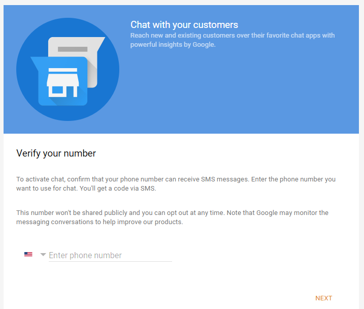 Google My Business - Configure Phone Number for Messaging