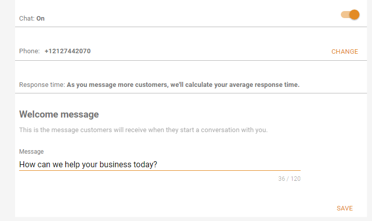 Google My Business - Messaging Setup