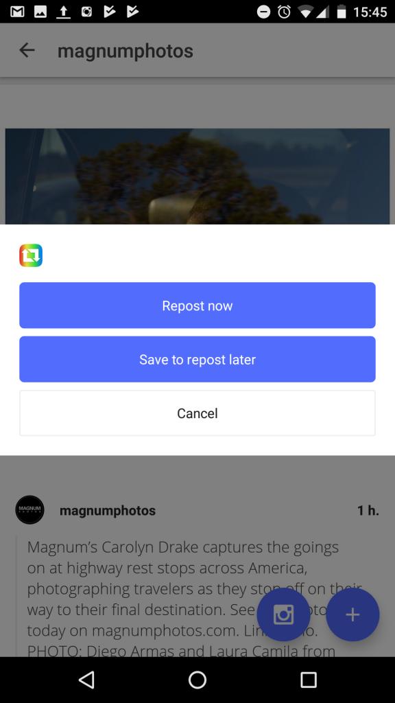 InstaRepost for Instagram