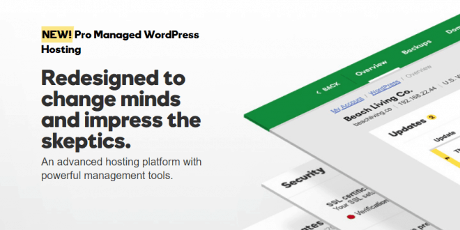 GoDaddy Launches A Redesigned Managed WordPress Hosting Service - Service Updates - Rapid Purple